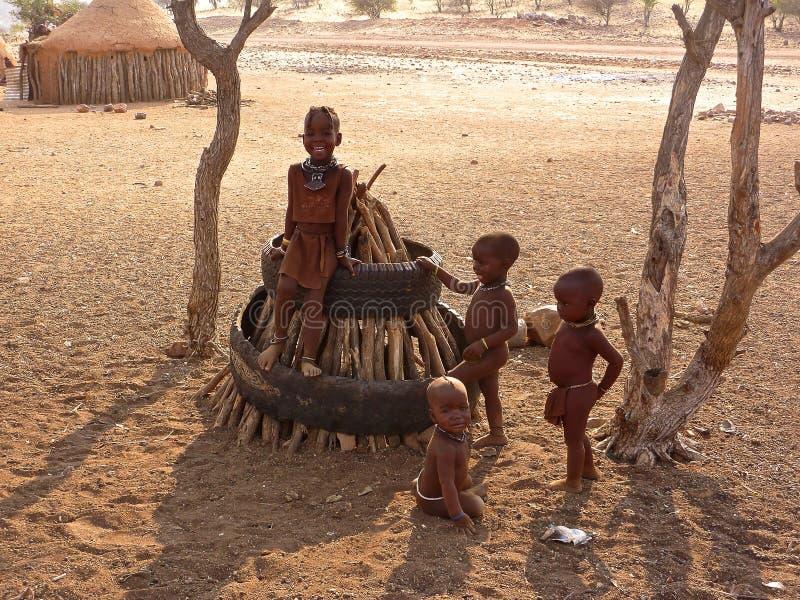 Personnes de la Namibie image libre de droits