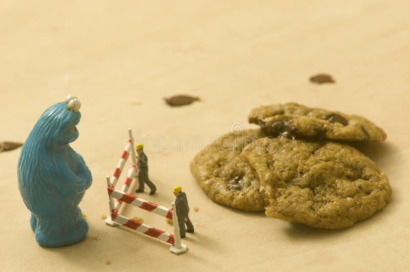 Personnes de Playmobil de monstre de biscuit et images stock