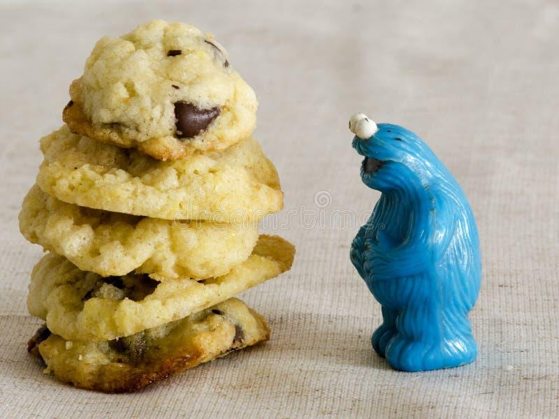 Cookie Monster Playmobil People Et photographie stock libre de droits