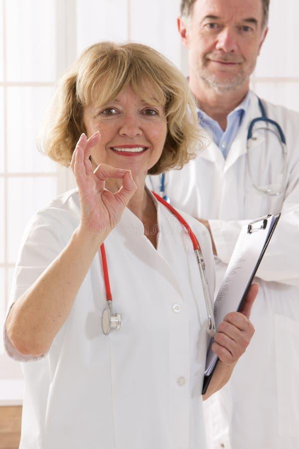 Personnes de soins de santé et de médecine photographie stock