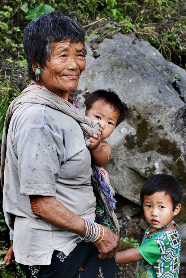 Personnes ethniques d'Inde photographie stock libre de droits