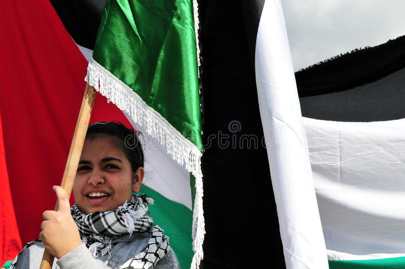 Personnes palestiniennes photo stock