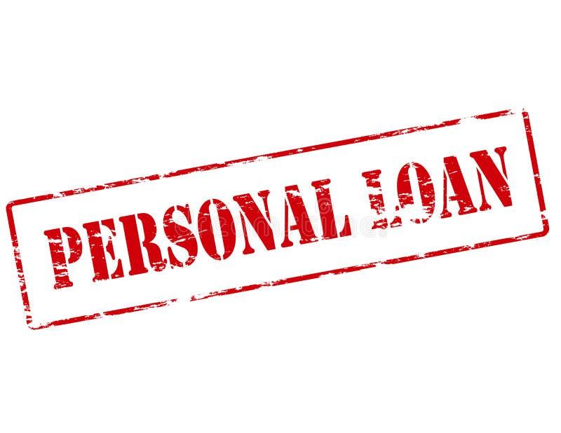 Persoonlijke lening vector illustratie