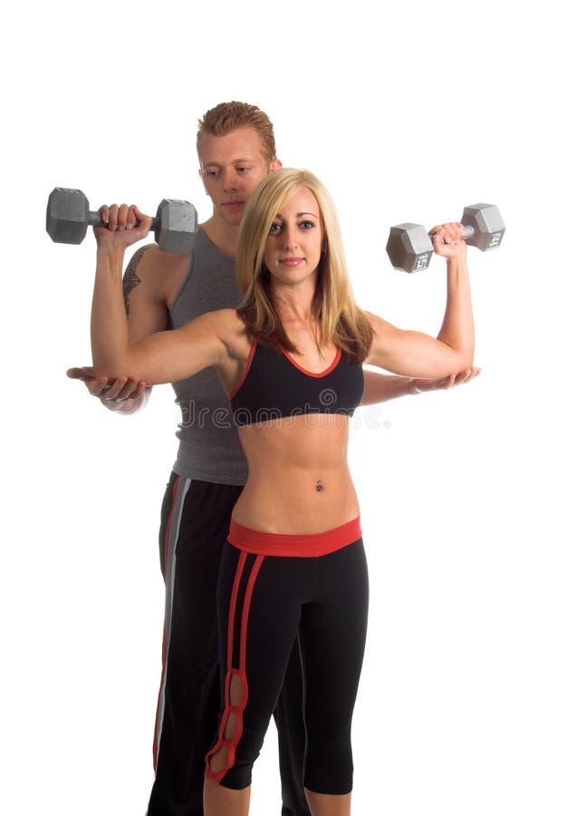 Persoonlijke Trainer stock afbeelding