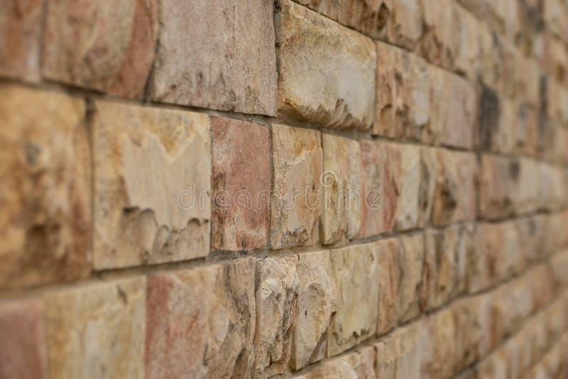 Perspectiva de la pared de ladrillo para las ilustraciones del diseño Fondo de la configuraci?n imagen de archivo