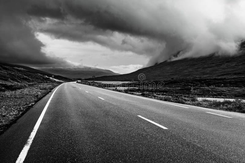 Perspectiva del camino imagen de archivo
