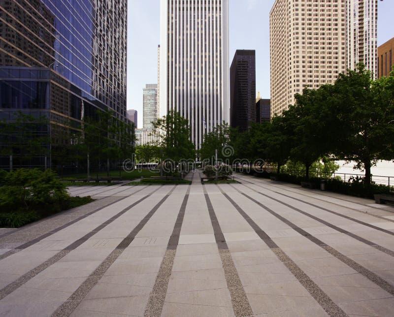 Perspectiva del edificio fotografía de archivo libre de regalías