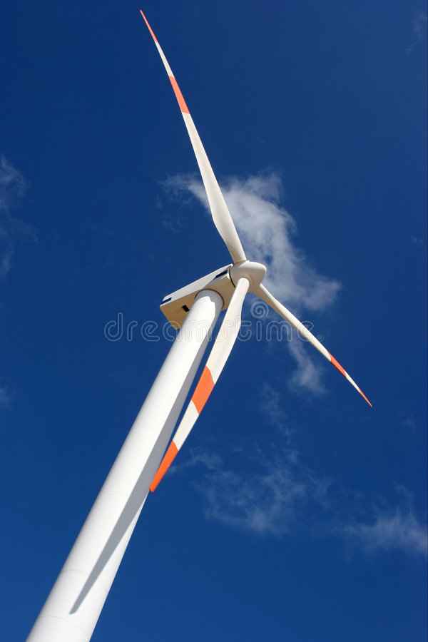Perspectiva do moinho de vento fotos de stock royalty free