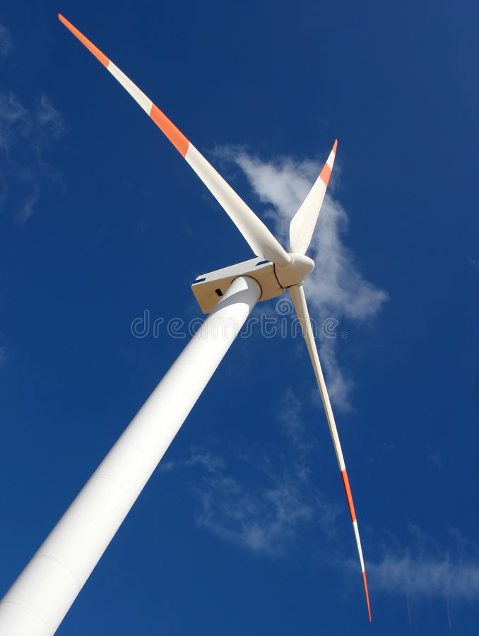 Perspectiva do moinho de vento imagens de stock