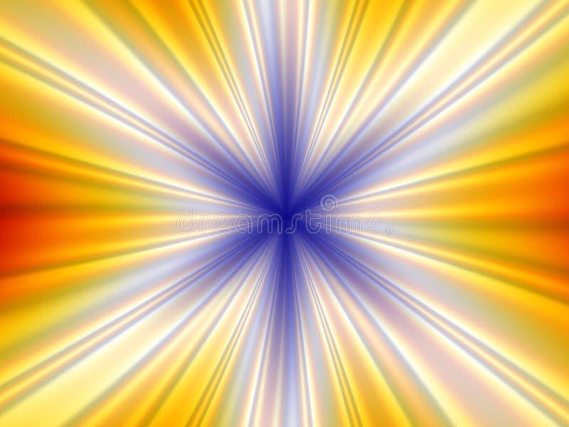 Perspectiva radial stock de ilustración