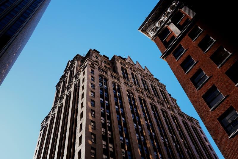 Perspectiva urbana fotografía de archivo