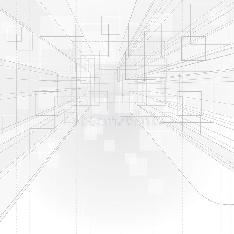 Download Perspective Background stock vector. Illustration of schematic - 27499719