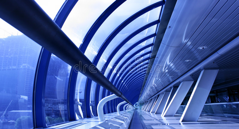 Perspective of business centre royalty free stock photos