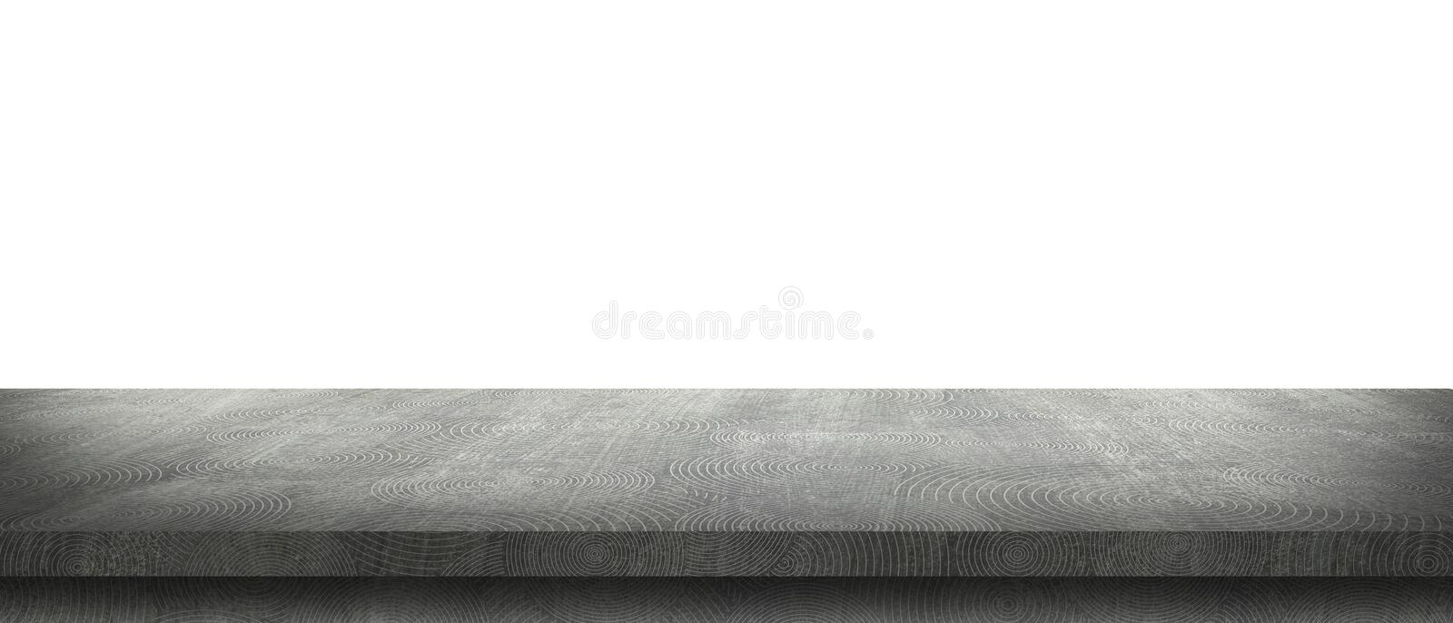 Perspective concrete cement floor with circle line texture background.  royalty free stock image