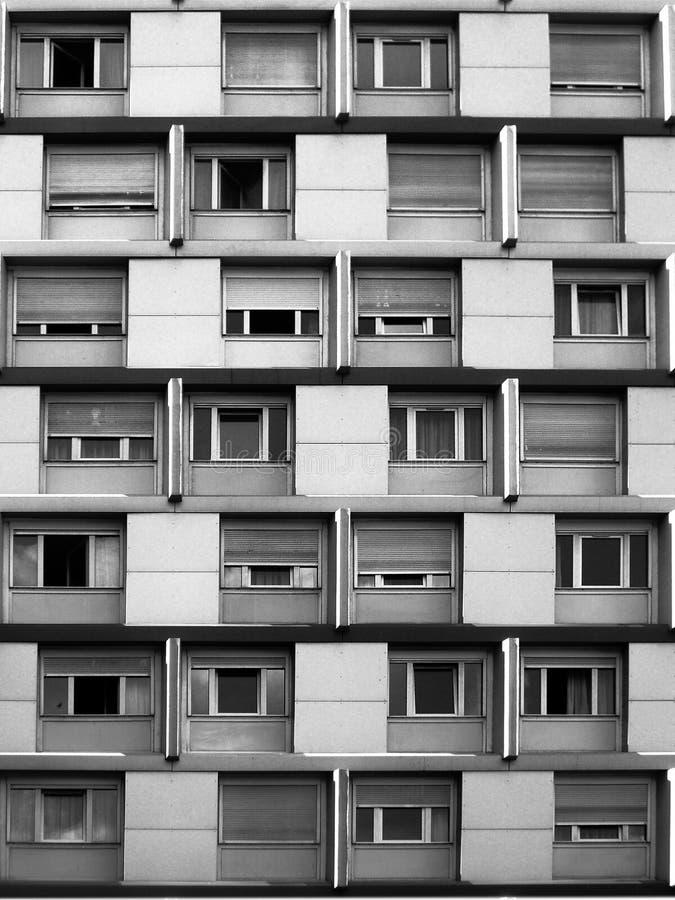 Perspective corrigée - Paris 13 images stock