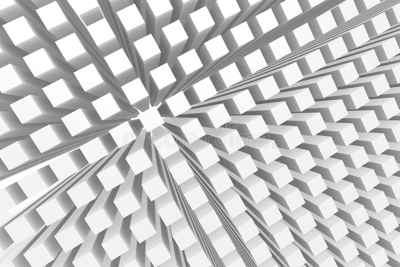 Download Perspective Cubes Background Stock Illustration - Image: 22234846