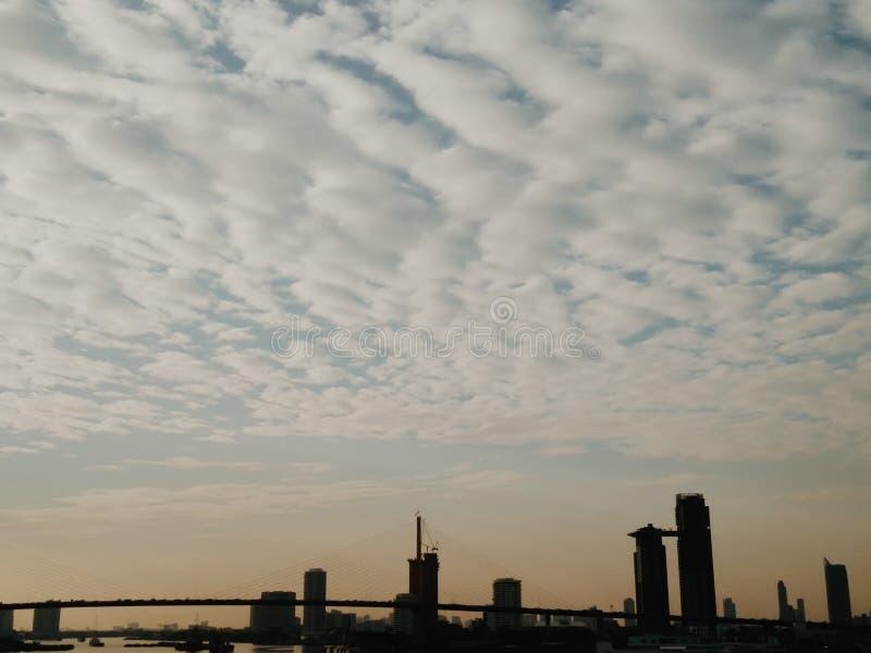 Perspective de ville photos libres de droits