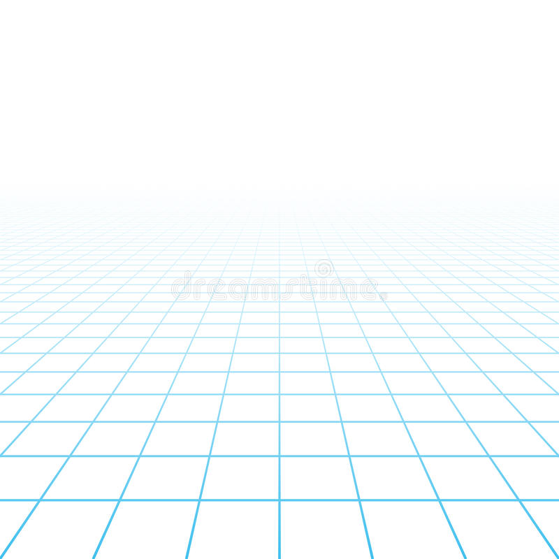 Perspective Grid Background Stock Vector