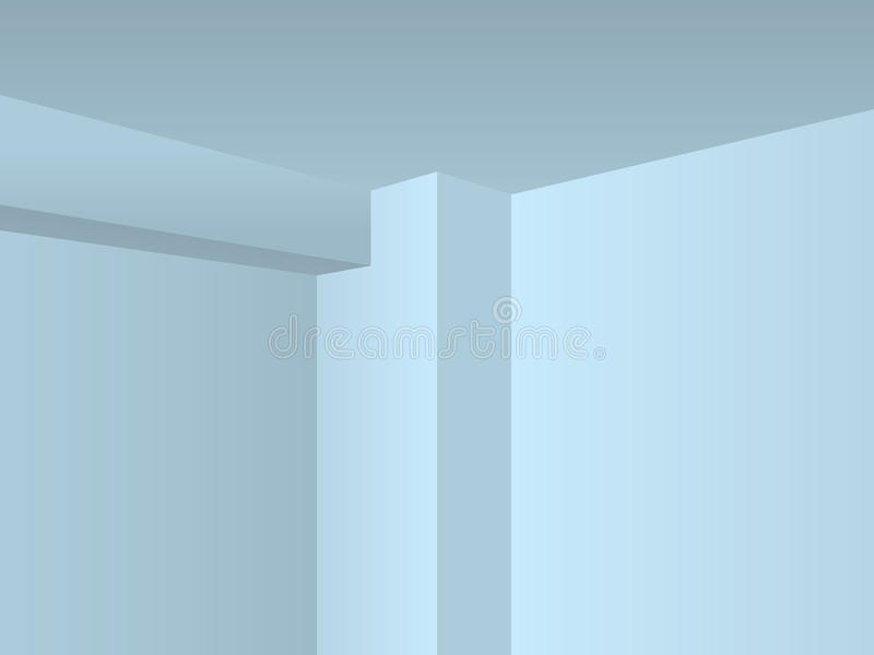 Download Perspective light room stock illustration. Image of engineering - 21390091