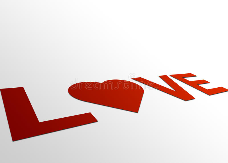 Perspective Love Sign Stock Photos