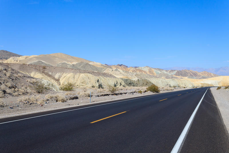Download Perspective Road, Death Valley, USA Stock Photo - Image: 83711158