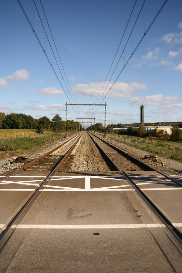 Download Perspective Shot Of Railway Stock Photo - Image of locomotion, rails: 3373084