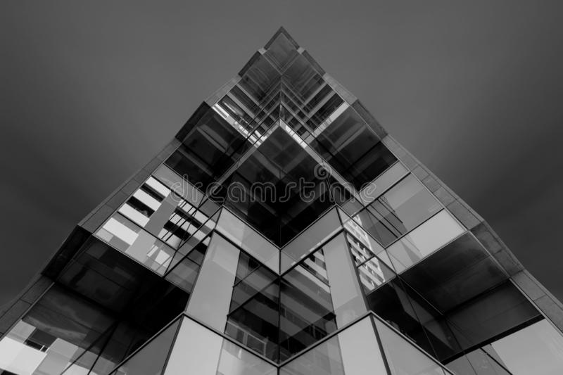 Perspective view building stock photography