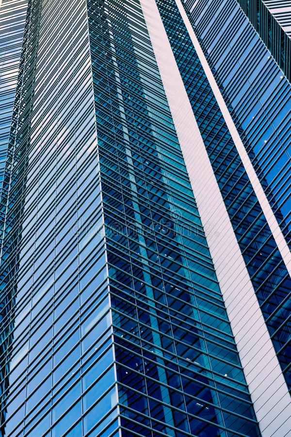 Free Perspective View Of Tall Skyscraper. Stock Images - 124522744