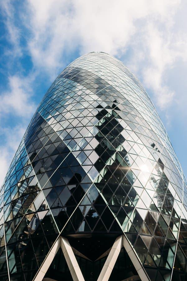 City of london office buildings gherkin uk stock image