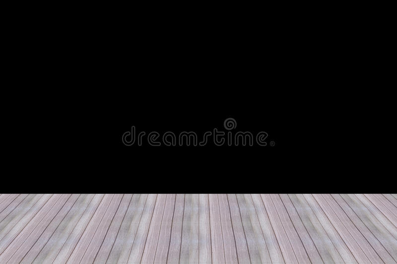 Perspective wood wall floor room wooden design wallpapers and black background. Wood wall floor room design texture wallpapers and backgrounds stock images