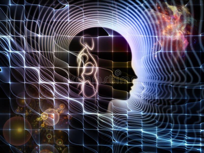 Perspectives d'esprit humain illustration libre de droits