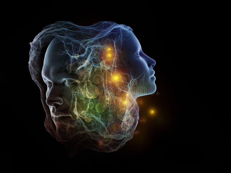 Perspectives d'intellect illustration de vecteur