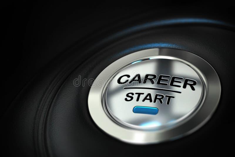 Perspectives de carrière illustration de vecteur
