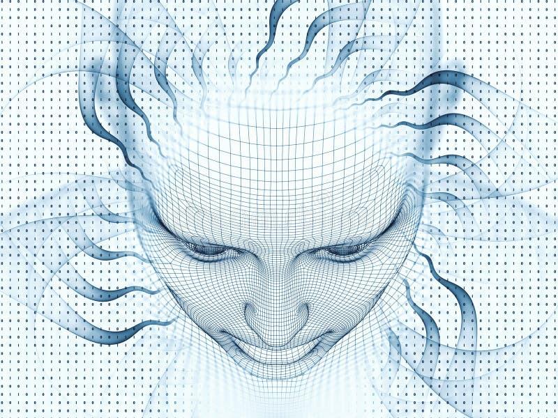 Perspectives de Digital de l'esprit illustration stock