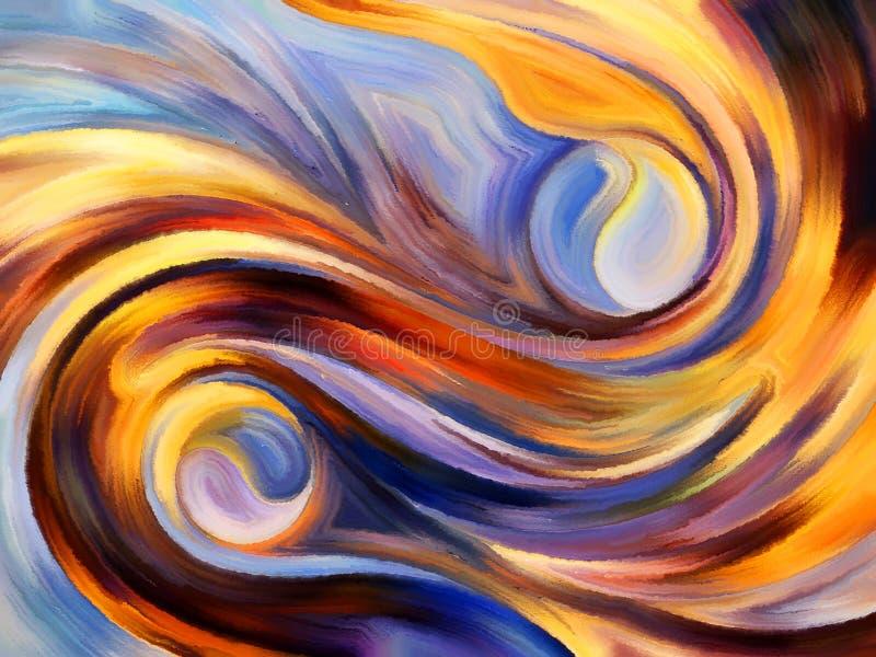 Perspectives de peinture intérieure illustration libre de droits