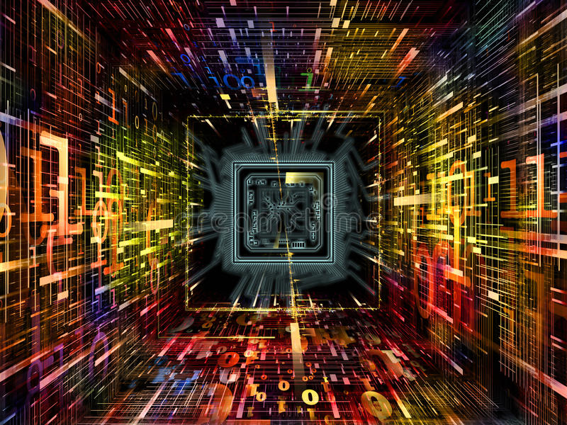 Download Perspectives of Numbers stock image. Image of computer - 34528251