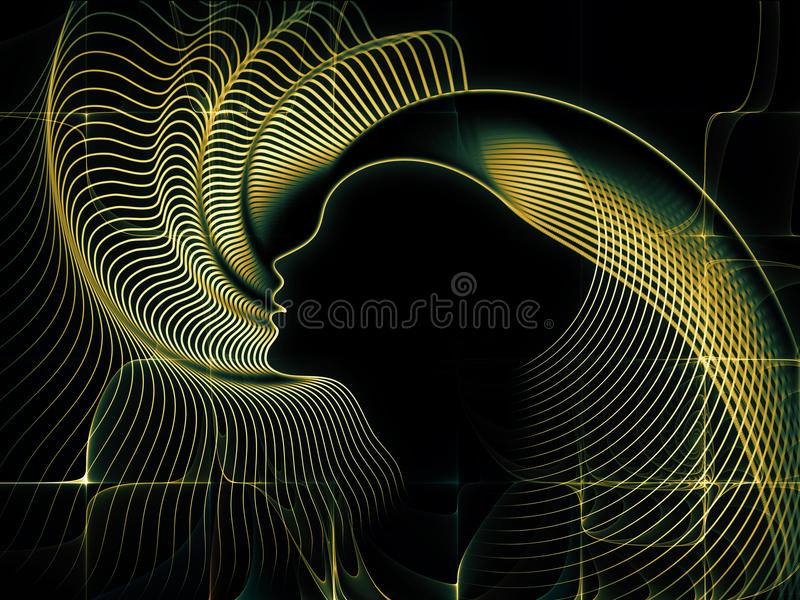 Perspectives Of Soul Geometry Stock Image
