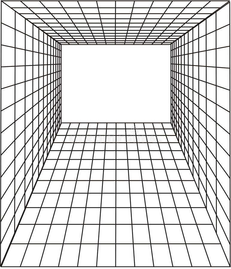 Perspektive stock abbildung
