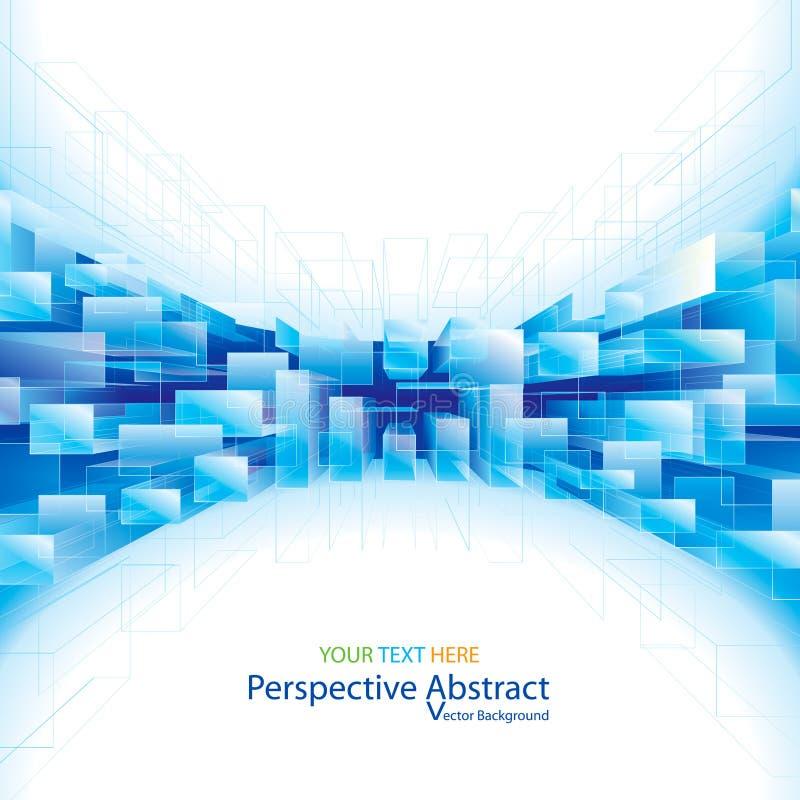 Perspektive-abstrakter Hintergrund lizenzfreies stockbild