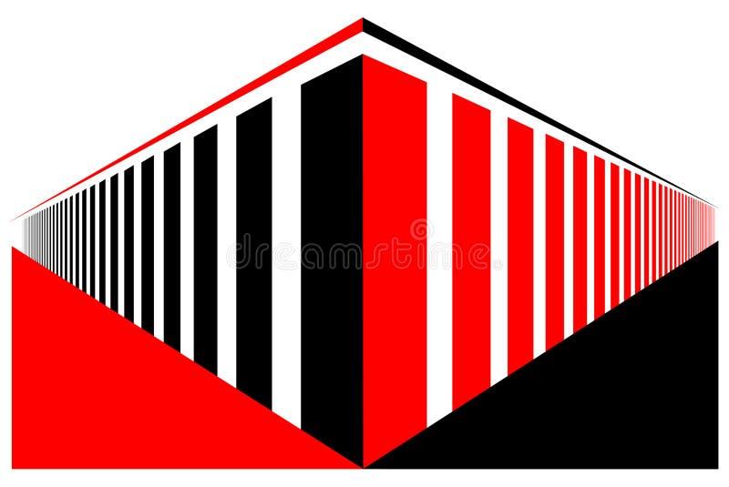 Perspektiven-Struktur lizenzfreie stockfotos