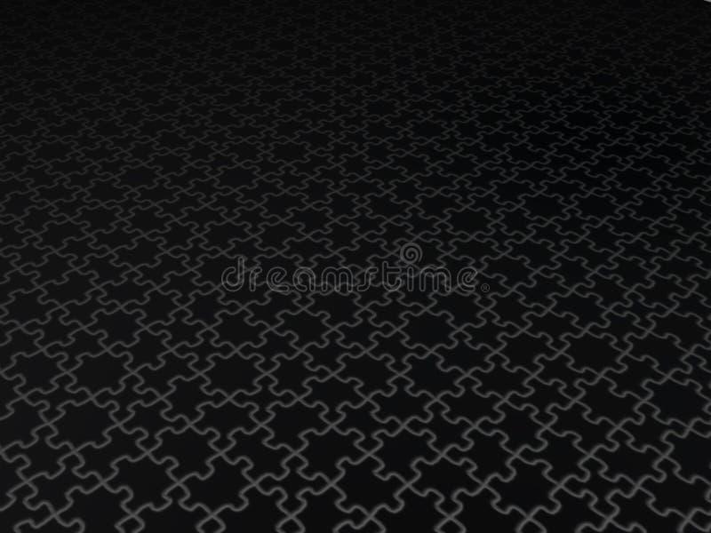Perspektivepuzzlespiel stock abbildung