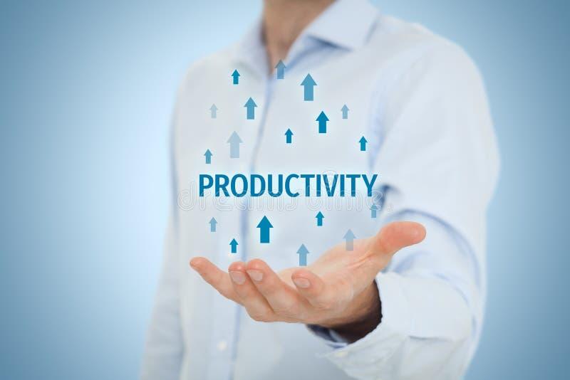 Perspektivet motiverar till produktivitetsförbättring arkivfoto