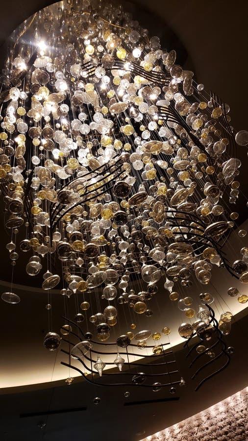 Perspektywa 1.000 świateł obrazy royalty free