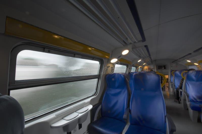 Perspektywa pasażer fotografia stock
