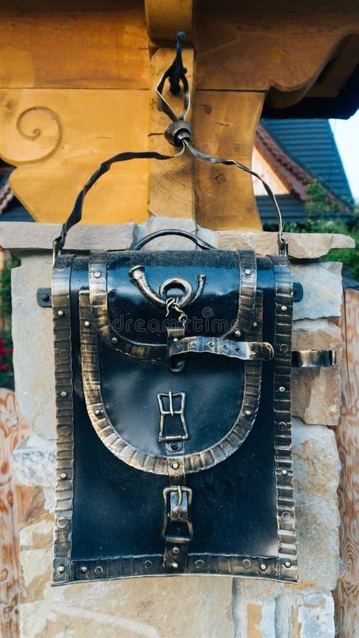 Perspektywiczny widok skrzynka pocztowa zdjęcia stock