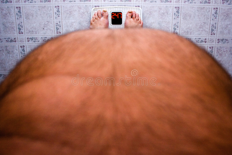 Perte de poids photographie stock libre de droits