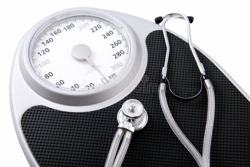 Perte de poids pour la santé photographie stock libre de droits