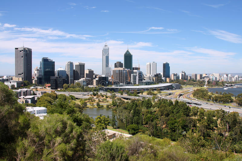 Perth royalty free stock photos