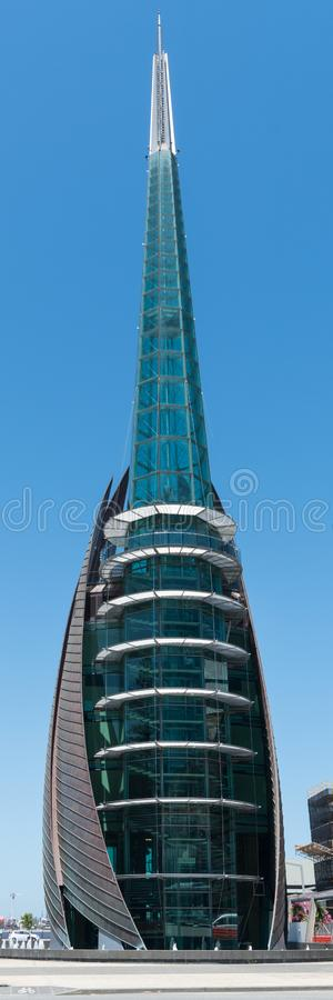 Bell tower, Perth, Australia royalty free stock photos