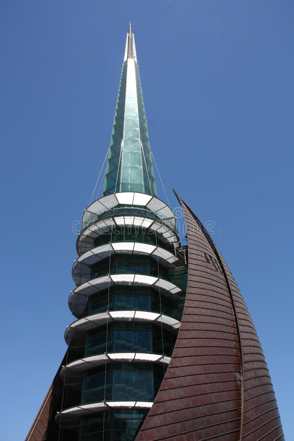 Perth bell tower royalty free stock photography